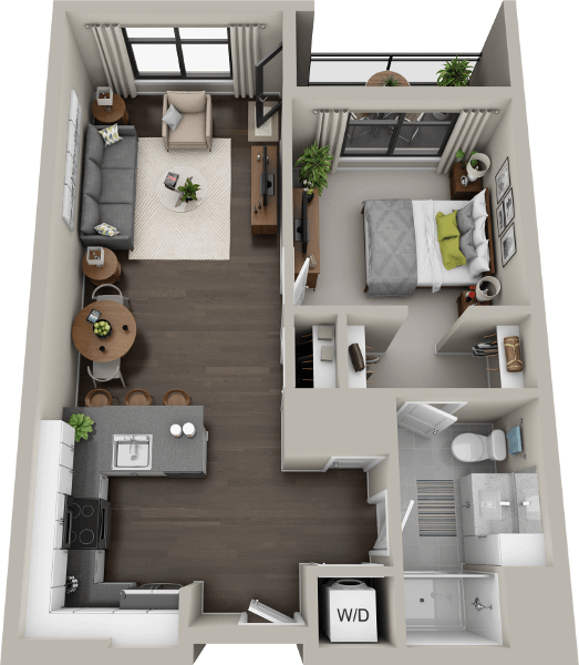 Studio Apartments In Boston: Luxury Features & Floor Plans