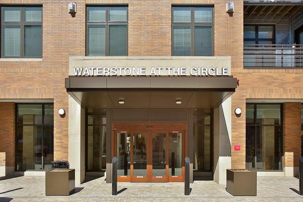 Waterstone at the Circle entrance